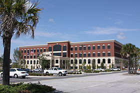 The new North Charleston City Hall