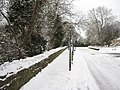 City walls and City Walls Road in the snow - geograph.org.uk - 1657747.jpg