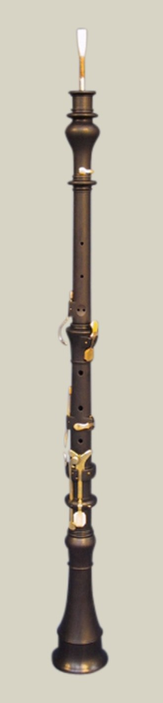 Oboe - Classical oboe, copy by Sand Dalton of an original by Johann Friedrich Floth, c. 1805