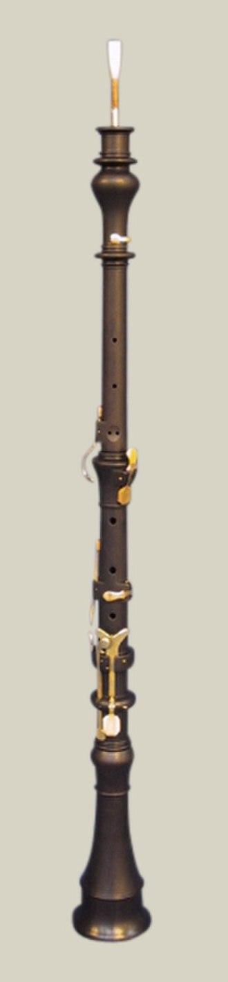 Oboe - Classical oboe, copy by Sand Dalton of an original by Johann Friedrich Floth, c. 1805