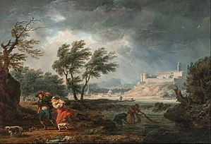 Four Times of the Day (Joseph Vernet) - Image: Claude Joseph Vernet The four times of day Midday Google Art Project