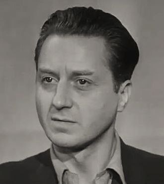 Claude Dauphin (actor) - Dauphin in the 1944 film A Salute to France