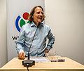 Closing Words Christian Rickerts Wikidata Third Birthday.jpg