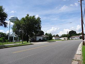 Clover, Virginia - Clover center in 2013