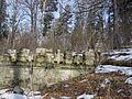 Cmentarz wojskowy z I wojny światowej na wzgórzu Pustki (Łużna) 2.JPG