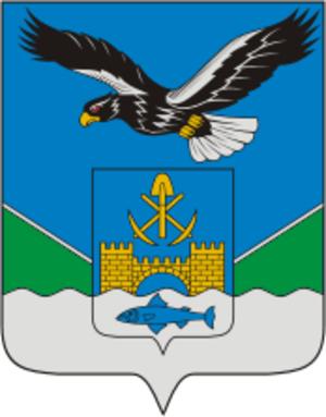 Nikolayevsk-on-Amur - Image: Coat of Arms of Nikolaevsk na Amure (Khabarovsk kray) (2002)