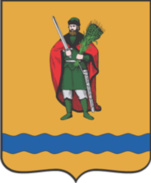 Ryazansky District, Ryazan Oblast - Image: Coat of Arms of Ryazan rayon (Ryazan oblast)