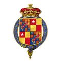 Coat of arms of Charles Beauclerk, 2nd Duke of St Albans, KG, KB.png