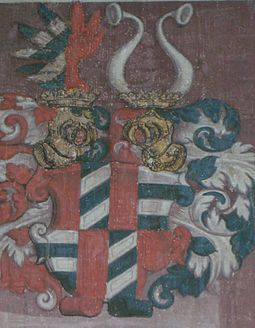 Coat of arms of the Von Rain and Von Graben family.jpg