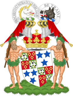 Coat of arms of the duke of Roxburghe.png