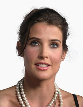 Cobie Smulders in september 2008