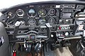 Cockpit of Piper PA-28-151 (G-BOYH) at Bristol Airport, England 15May2016 arp.jpg