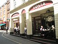 Coffee shop at the western end of King Street - geograph.org.uk - 1466760.jpg
