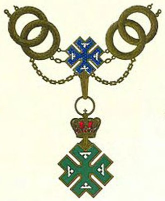 Orders, decorations, and medals of Romania - Image: Collar order Ferdinand I