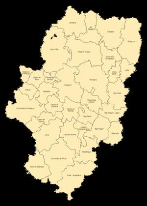 Comarcas of Aragon - Comarcas of Aragon