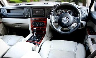 Jeep Commander (XK) - RHD Interior