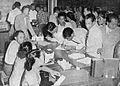 Committee taking orders, Tambahan dan Pembetulan Pekan Buku Indonesia 1954, p26.jpg