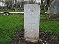 Commonwealth War Grave in Jarrow Cemetery (WW2-34) - geograph.org.uk - 1605062.jpg