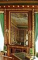 Compiègne, Château, the library, mirror.JPG
