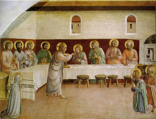Comunione degli apostoli, cella 35