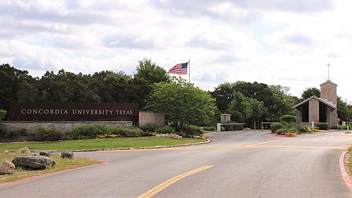 Concordia Univesity Texas Entrance