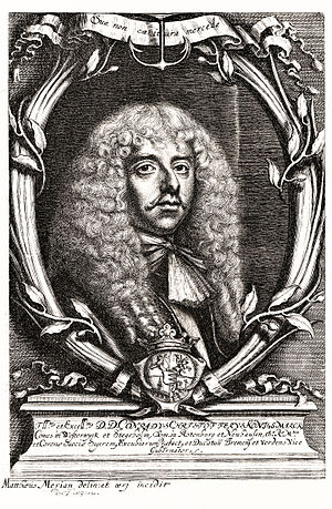 Kurt Christoph von Königsmarck - Portrait of Conrad Christoff von Königsmarck by Matthaeus Merian the Younger