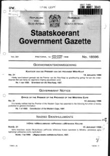 Constitution of the Western Cape 1997 from Government Gazette.djvu