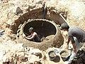 Construction de digesteurs pour une ferme, école et mosquée à Dayet Ifrah, Maroc (13244503405).jpg