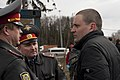 Conversation with the police forces- Sergey Udaltsov April 2011.jpg