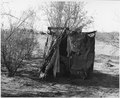 Coolidge, Arizona. Toilet in district on edge of town - NARA - 522035.tif