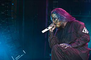 Corey Taylor of Slipknot in 2005