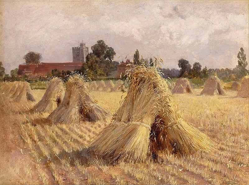 File:Corn Stooks by Bray Church.jpg