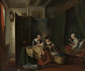 Dutch delivery room