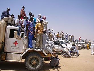 Chad Basin - People at a coronation in Chad, 2005