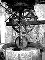 Corse Meule mécanisée du moulin à huile de Sainte-Lucie-de-Tallano.jpg