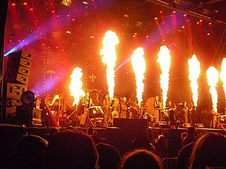 Corvus Corax (band) - Corvus Corax performing live at Wacken Open Air in 2010