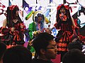 Cosplayers of Kurumi Tokisaki and Yoshino on the stage 20190127a.jpg