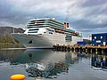 Costa Neo Romantica in Honningsvåg harbour - panoramio.jpg