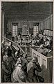 Court sitting trying prisoners in the Justice Hall of Old Ba Wellcome V0041657.jpg