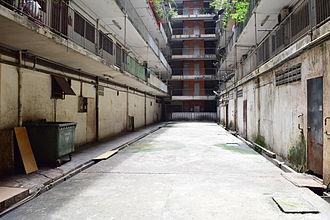 T. Y. Lee - Courtyard of Blue Boy Mansion