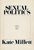 Cover von Sexual Politics, 1969