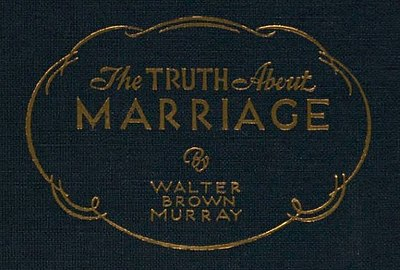 Cover text from The Truth about Marriage (1931).jpg