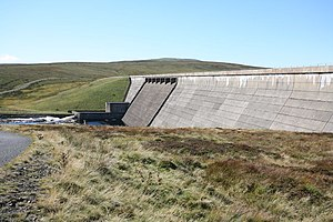 Cow Green Reservoir - River Tees - geograph.org.uk - 1410705.jpg