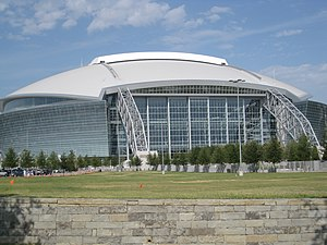 Super Bowl XLV - Cowboys Stadium in Arlington, Texas was ultimately chosen as the site for Super Bowl XLV.