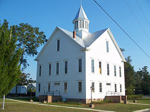 National Register of Historic Places listings in Wakulla County, Florida - Image: Crawfordville FL old crths 01