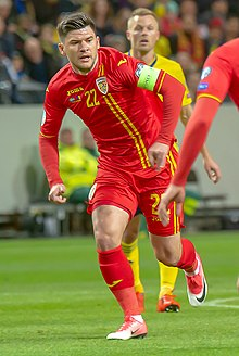 Cristian Sapunaru (cropped) - Sweden vs Romania 23 March 2019.jpg