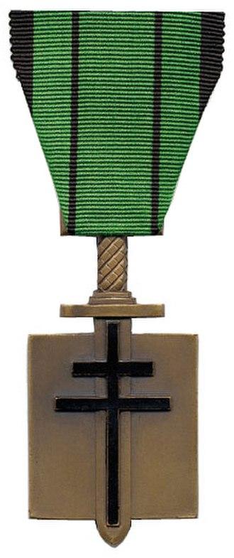 André Lalande - Image: Croix de la liberation