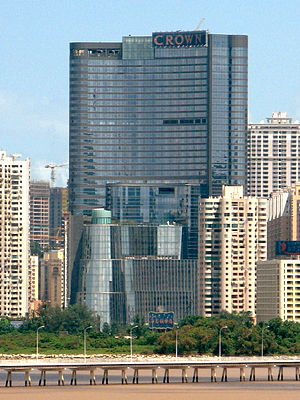 Crown Resorts - Image: Crown Macau 2008