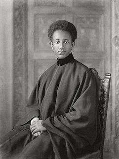Amha Selassie last reigning Emperor of Ethiopia