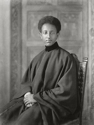 Amha Selassie - Amha Selassie in 1932